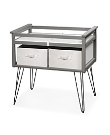 Contempo Convertible Changing Table with Two Baskets