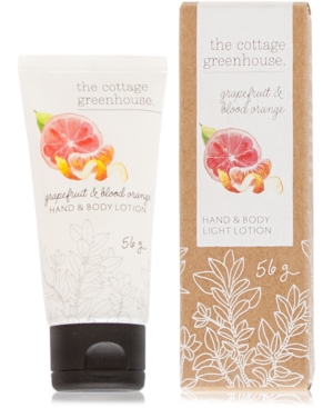 The Cottage Greenhouse Grapefruit & Blood Orange Travel Lotion, 2-oz.