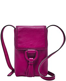 Bobbie Leather Phone Crossbody