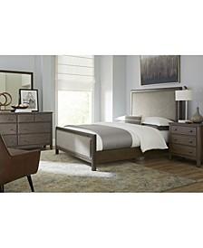 Parker Brown Platform 3-Pc. Bedroom Set (Queen Bed, Dresser & Nightstand), Created for Macy's