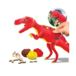 Discovery #Mindblown Toy Dinosaur Diy Puzzle Clay T-Rex