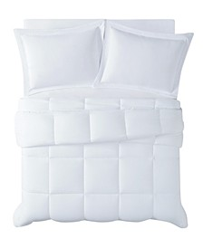 Antimicrobial  Down Alternative 3 Piece Comforter Set, Full/Queen