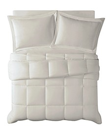 Antimicrobial  Down Alternative 2 Piece Comforter Set, Twin/Twin Xl