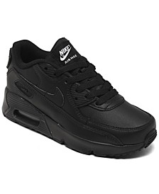 Little Boys Air Max 90 Leather Running Sneakers from Finish Line