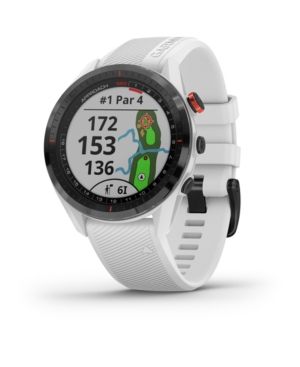 Unisex Approach S62 White Silicone Strap Touchscreen Smart Watch 47mm