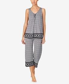 Women's Sleeveless Pajama Set