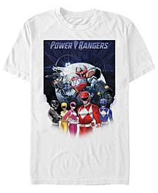 Men's Power Rangers World Poster Short Sleeve T-Shirt