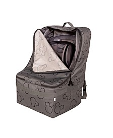 Disney Baby Ultimate Padded Backpack Car Seat Travel Bag, Mickey