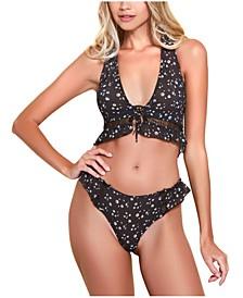 Halter Bralette and Underwear 2pc Set, Online Only