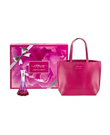Silhouette in Bloom Perfume Gift Set for Women with Tote Bag, 2 Pieces