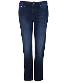Fell Straight-Leg Raw-Hem Jeans