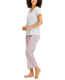 Capri Cotton Pajama Set, Created for Macy's