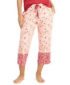 Cotton Capri Pajama Pants, Created for Macy's