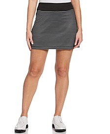 Striped Golf Skort
