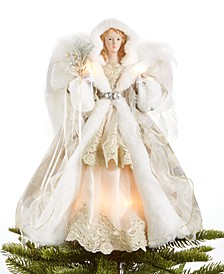Light Up Champagne Shimmer Angel Tree Topper, Created for Macy's