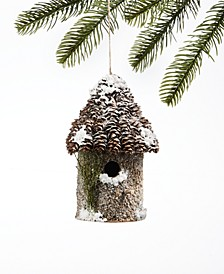 Birds & Boughs Pinecone Cabin Ornament, Created for Macy's