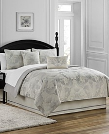 Fairlane Reversible 4 Piece Comforter Set, Queen