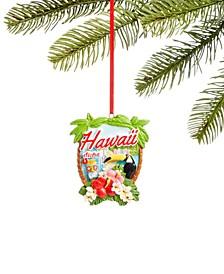 Hawaii Aloha Ornament, Created for Macy's
