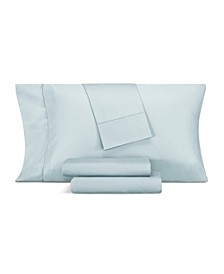 1000 Thread Count Cotton Blend Hemstitch Queen 4-Pc. Sheet Set