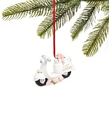 """2020 """"Just Married"""" Moped Ornament, Created for Macy's"""