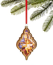 Renaissance Glass Holy Family Ornament, Created for Macy's
