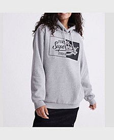Women's Brand Language Oversized Hoodie