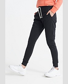 Women's Organic Cotton Standard Label Loopback Joggers