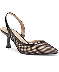 I.N.C. Women's Tevy Slingback Pumps, Created for Macy's