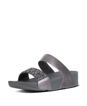 Fitflop FITFLOP WOMEN'S SPARKLIE CRYSTAL SLIDE SANDAL WOMEN'S SHOES