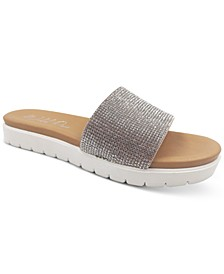 Safirah Slide Flat Sandals, Created for Macy's