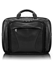 Irving Park Double Compartment Laptop Briefcase