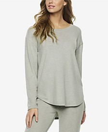 Brushed Jersey Loungewear Top