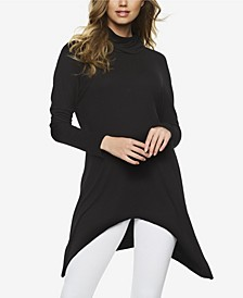 Rib Turtleneck Tunic