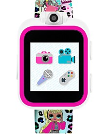 Kid's LOL Surprise! O.M.G. PlayZoom Rainbow Neon TPU Strap Touchscreen Smart Watch 52x42mm