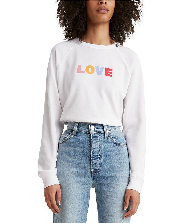 Levi's Graphic Fleece Sweatshirt
