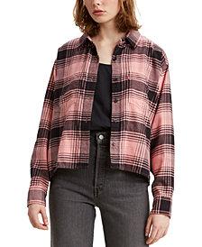 Levi's® Maple Cotton Plaid Utility Shirt
