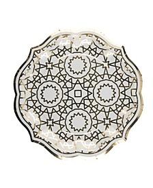 Boho Dinner Plate, Pack of 16