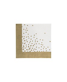 Glam Confetti Cocktail Paper Napkin, Pack of 32