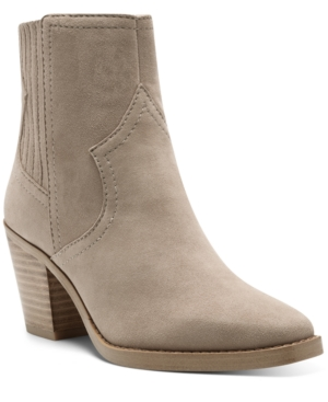 Lucky Brand Boots WOMEN'S JAIDE WESTERN BOOTIES WOMEN'S SHOES