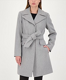 Belted Wrap Coat, Created for Macy's