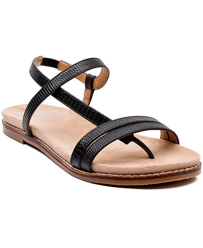 JANE AND THE SHOE - Holly Demi-Wedge Sandals