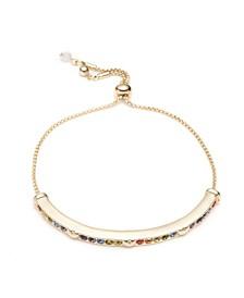 Heart Stone Slider Bracelet
