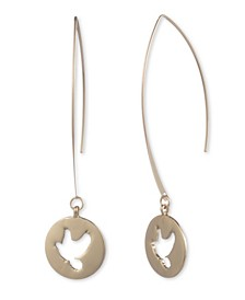 Bird Threader Earring