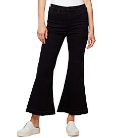 High Waist Kick-Flare Jeans