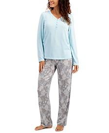 Soft Knit Pajama Set, Created for Macy's