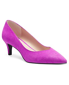I.N.C. Women's Lavena Kitten-Heel Pumps, Created for Macy's