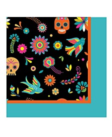 Day Of Dead Lunch Paper Napkin, Pack Of 32