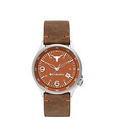 Men's Canyon Ridge Texas Saddle Leather Watch 45mm