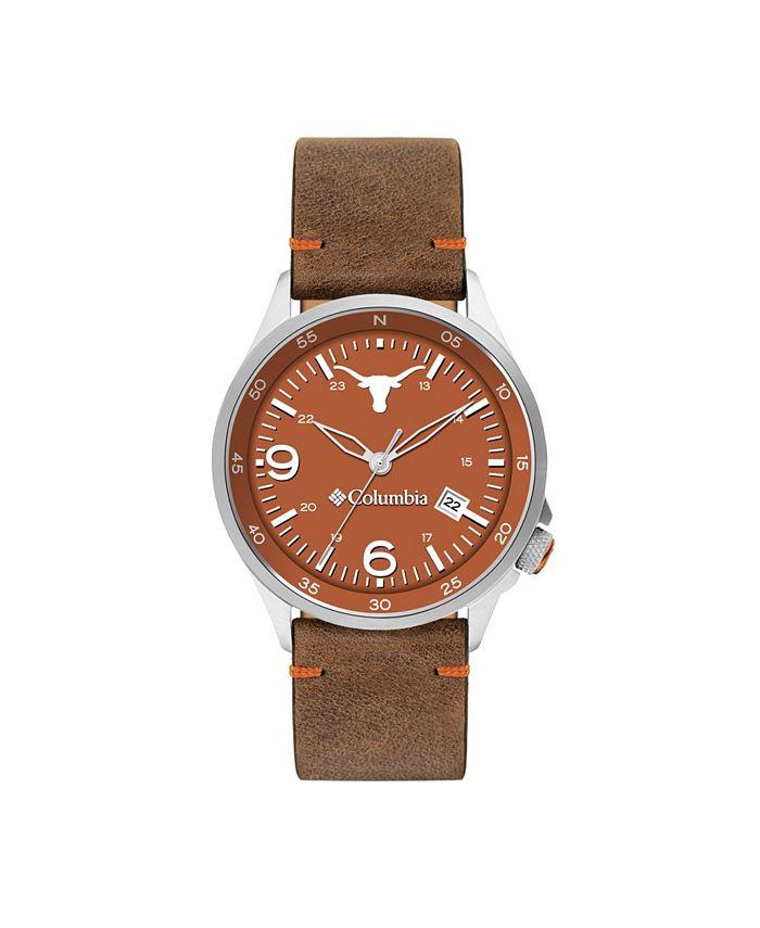 Columbia - Men's Canyon Ridge Texas Saddle Leather Watch 45mm