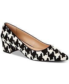 Women's Step N' Flex Cashh Low Block-Heel Pumps, Created for Macy's